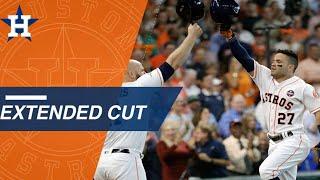 Extended cut of Altuve's third homer