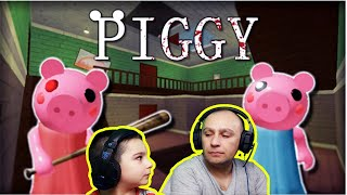 Roblox Piggy   Playing Roblox for the first time   Elephant Pig
