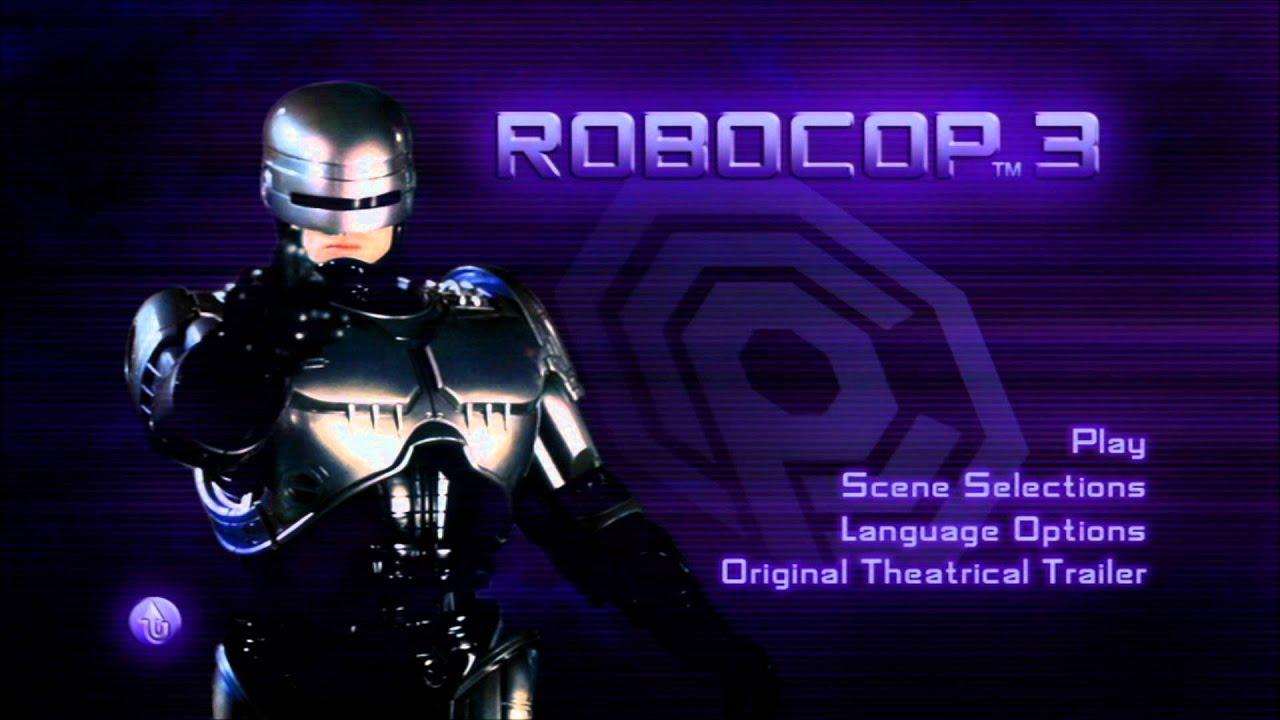 RoboCop 3 - UK DVD Menu - YouTube