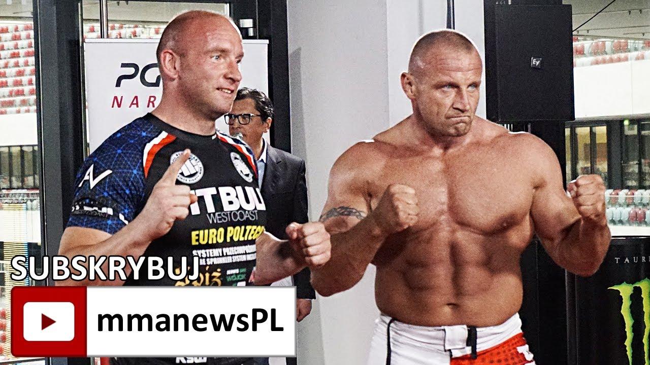 KSW 39: Pudzianowski vs Kowalczyk twarzą w twarz