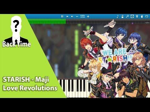 STARISH - Maji Love Revolutions ED (Uta no Prince-sama) (Piano Cover) + Sheets
