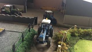 Splitting Timber 2018 Stop Motion Model Farm