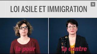 Pour ou contre la loi asile et immigration : les arguments de deux députées en deux minutes