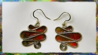 How to Make Elegant Serpentine Earrings