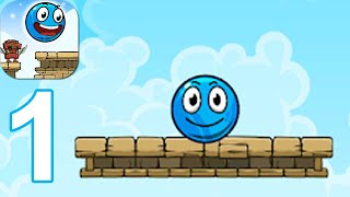 Blue Ball 11: Bounce Ball Adventure - Gameplay Walkthrough Part 1 (Android,iOS)