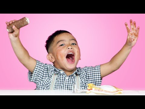 Kids Try Russian Snacks | Kids Try | HiHo Kids