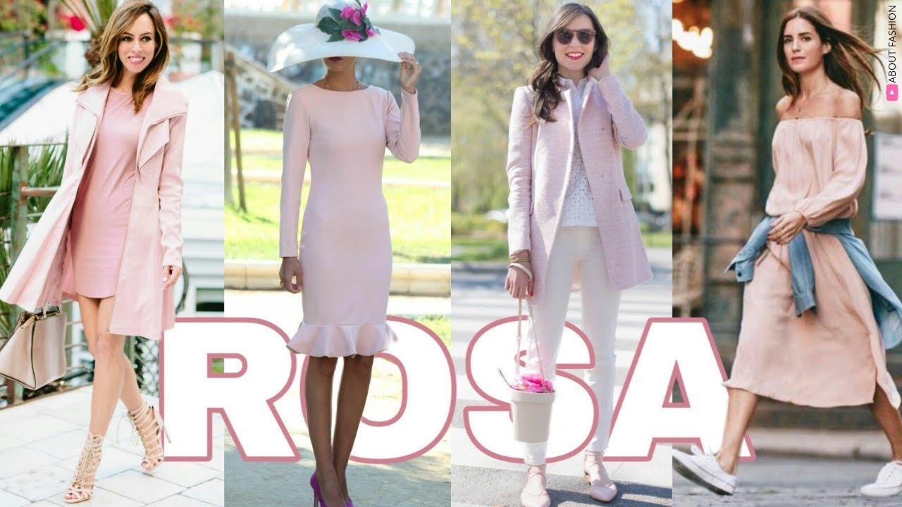Outfits En Color Rosa Palo Tendencias De Moda 2020 Con Ideas De Cómo Combinar Con Estilo Y Glamour Youtube