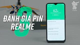 Đánh giá thời gian sử dụng pin trên Realme 3