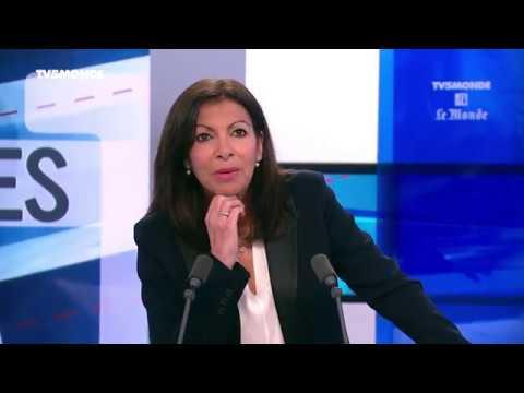 Anne Hidalgo, Maire de Paris, invitée d'Internationales