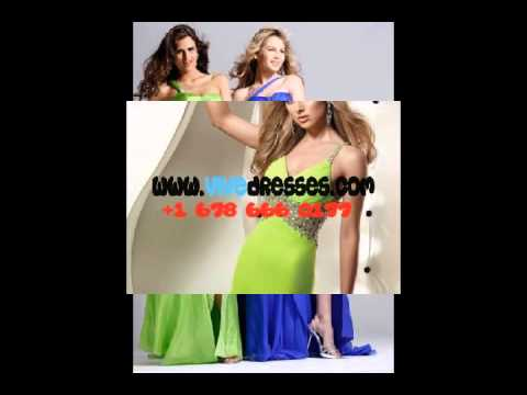 inexpensive lemon green evening dresses in 2012.  175.