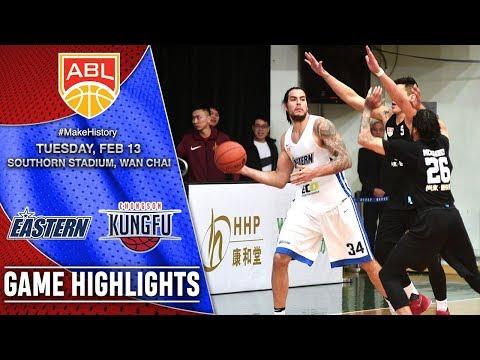 Hong Kong Eastern vs Chong Son Kung Fu | HIGHLIGHTS | 2017-2018 ASEAN Basketball League