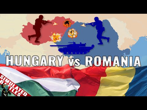 Romania vs Hungary: Simulated conflict and armed forces comparison (2021)