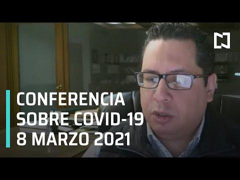 Informe diario Covid-19 en vivo - 8 marzo 2021