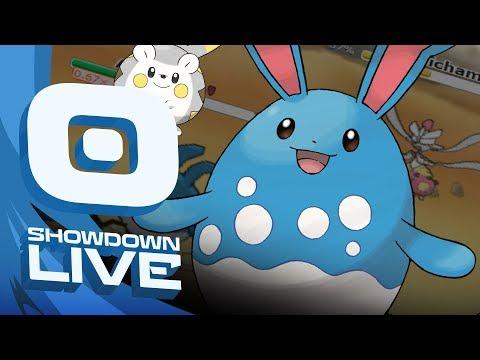 """Z-BELLY DRUM AZUMARILL!"" Pokemon Ultra Sun & Moon! OU Showdown Live w/PokeaimMD"