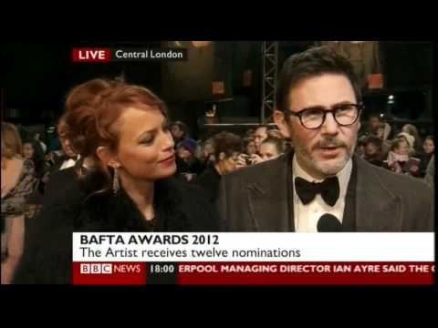 Bérénice Bejo and Michel Hazanavicius (The Artist - actress and director)