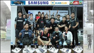 Kurierin On Kaskus : Gathering Kaskuser Regional Yogyakarta With Samsung @ JakCloth Jogja 2017