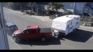 Trailer Fail Cannon Beach