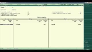 TallyERP 9Hindi(Currencies & Stock Item)   YouTube