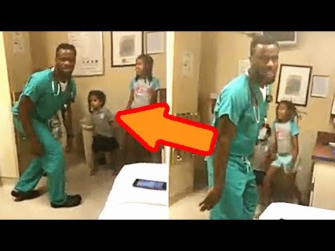 When a Mom Saw What This Doctor Was Doing with Her Kids, She Captured His Actions on Camera
