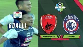 GOLLLL!! Serangan Ahmad Hardiyanto - Arema Membobol Gawang PSM Makassar