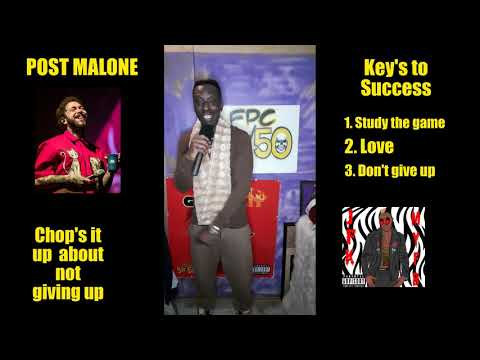 How To Study The Music Industry with Post Malone Rock Star chop's it up with his key's to success