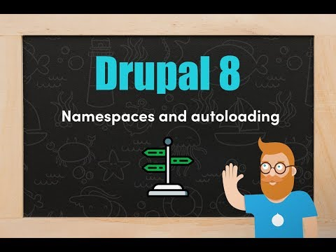 Namespaces and autoloading in Drupal 8 thumbnail