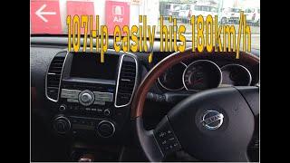 2010 Nissan bluebird sylphy test drive (no speed limit)