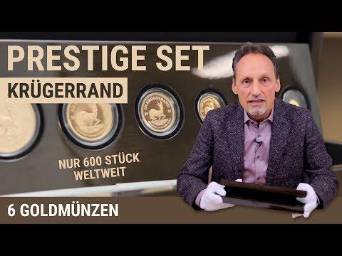 KRÜGERRAND | 6 Goldmünzen | Prestige Set | Nur 600 Stück