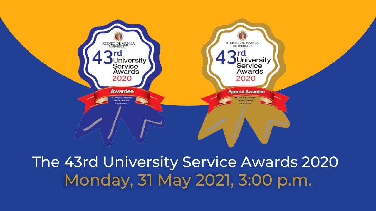 Download 43rd Ateneo de Manila University Service Awards - Watch the HD video at youtu.be/5nftZuGZH6Q