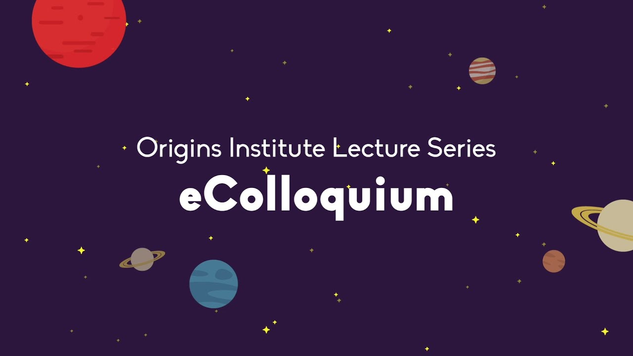 Image for Origins Institute Lecture Series with Dr. Kailash C. Sahu webinar