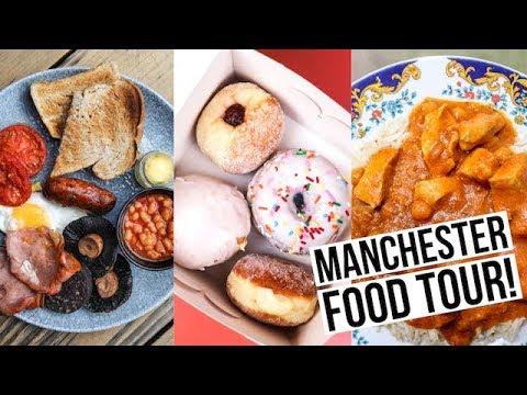 Manchester Food Tour: 4 MUST TRY Manchester Restaurants!