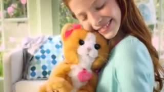 FUR REAL FRIENDS A2003 Интерактивная кошка DAISY в коробке от магазина ДЕТКИ