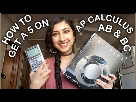 how-to-get-a-5-on-ap-calculus-//-study-tips