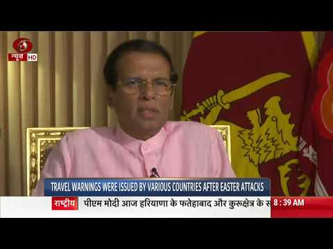 Sri Lankan President: security in the country strengthened