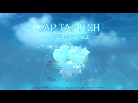 Tap Tap Fish - Abyssrium Pole (by FLERO GAMES Co.,Ltd.) IOS Gameplay Video (HD)