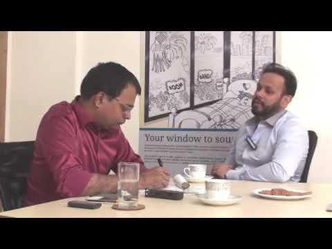 """Mr. Kushal Bajaj's interview on """" How Real Estate Developers and Architects can make the best out of current economic slowdown"""" with Project Management Review TV."""