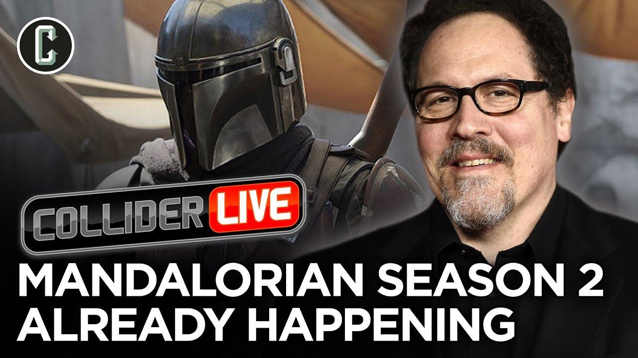 Exclusive: Jon Favreau Says He's Already Writing and Pre-Shooting 'The Mandalorian' Season 2
