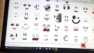 how to make your own face -roblox-