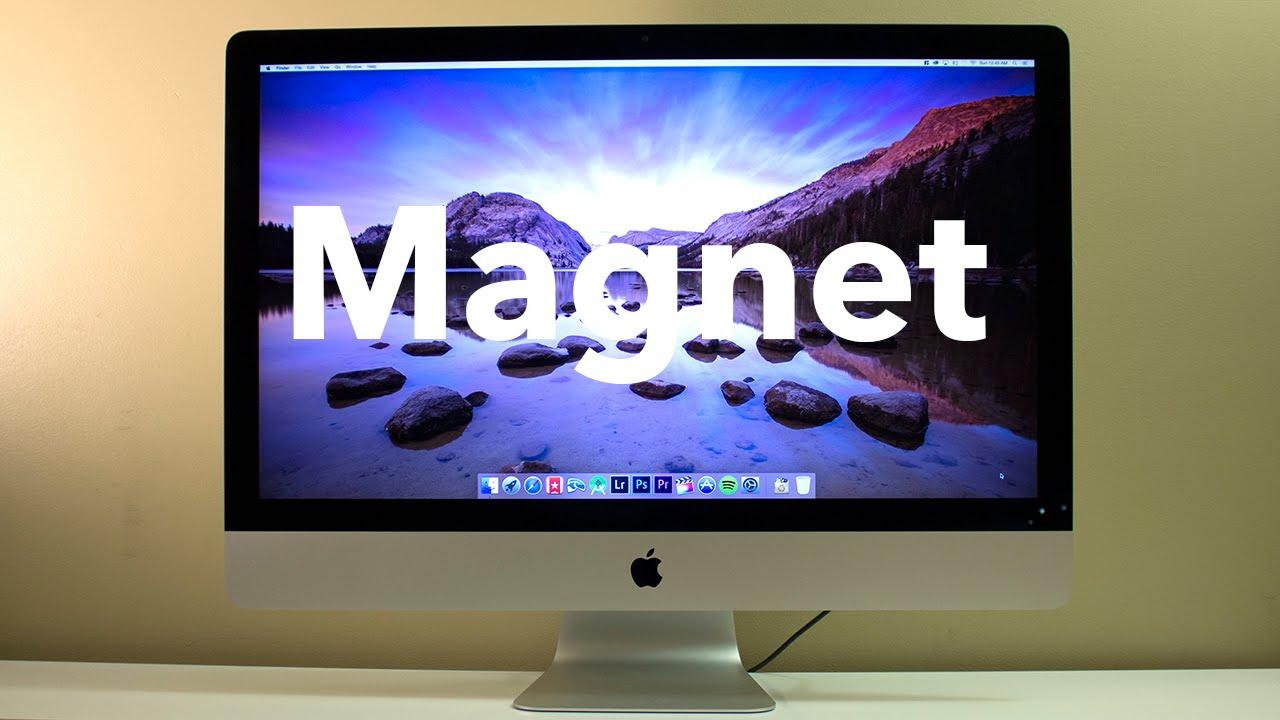 Magnet - The Most Useful App for the Mac?