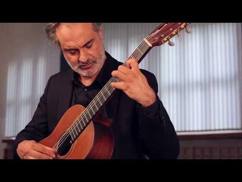 J.S. Bach, Lute Suite 3, Prelude-Presto - José Fernández Bardesio, guitar