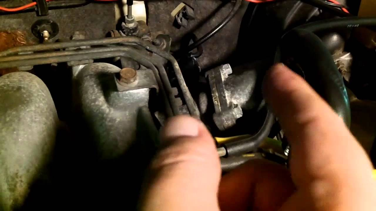mazda 626 - common vacuum leak locations