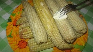 Вареная кукуруза в мультиварке