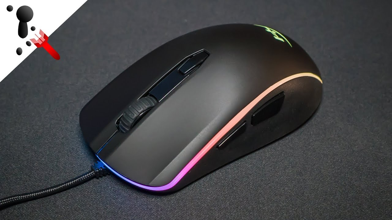 2f239d2f70f HyperX Pulsefire Surge RGB Mouse Review - YouTube