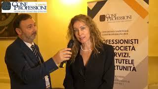 Congresso nazionale #Confprofessioni2018 - Intervista a Erika Stefani