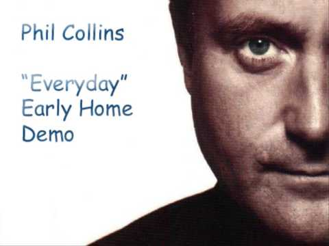 Phil Collins EVERYDAY (Early Home Demo)