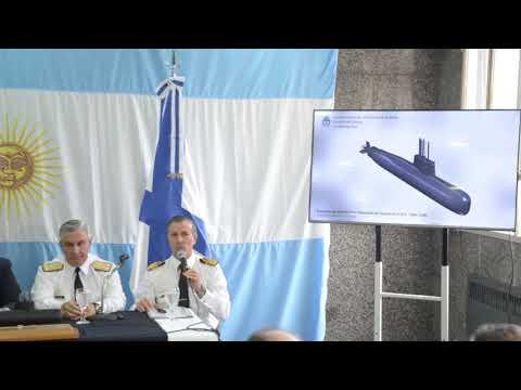 """Conferencia de prensa sobre el hallazgo del submarino ARA """"San Juan"""""""
