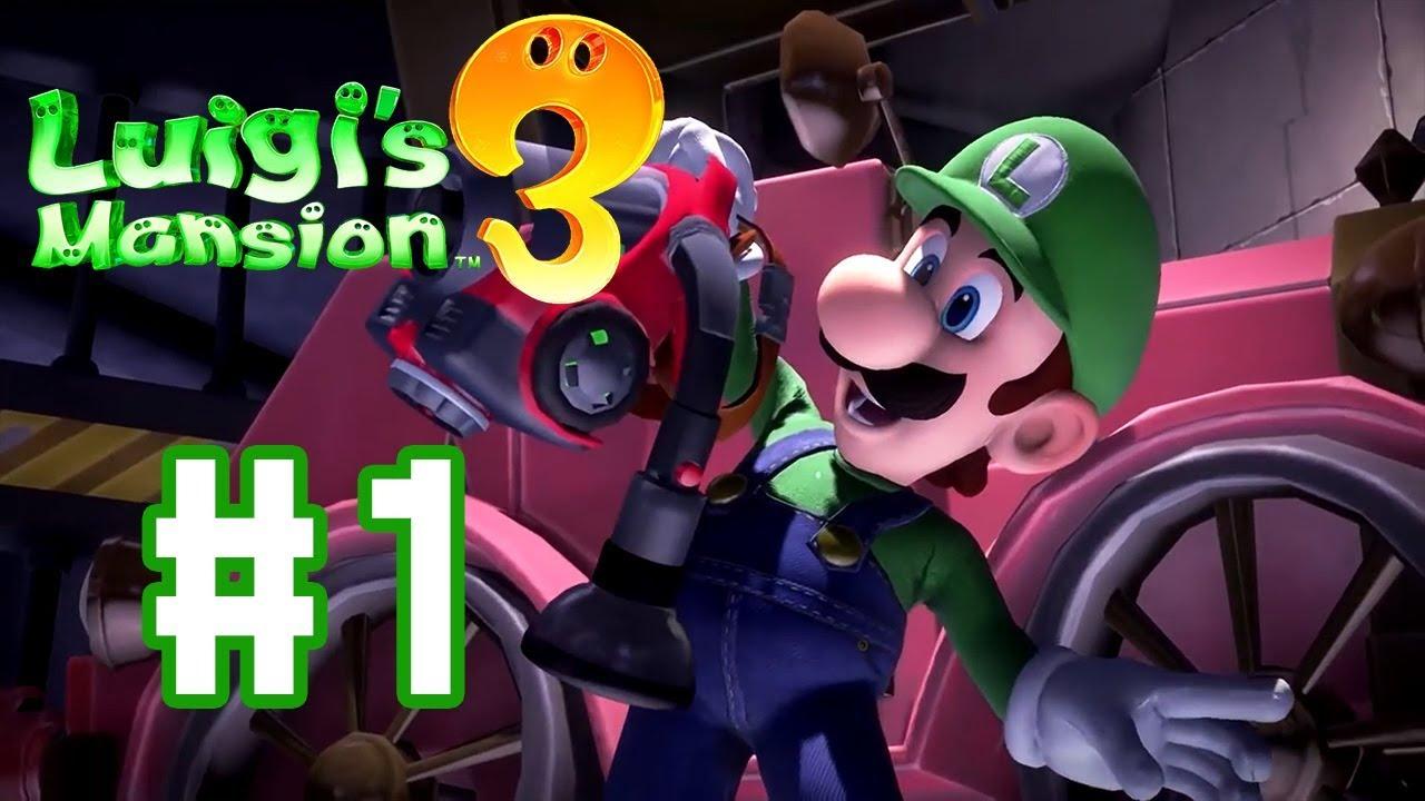 จากหน้ามือ เป็นหลังเท้า - Luigi's Mansion 3 - Part 1