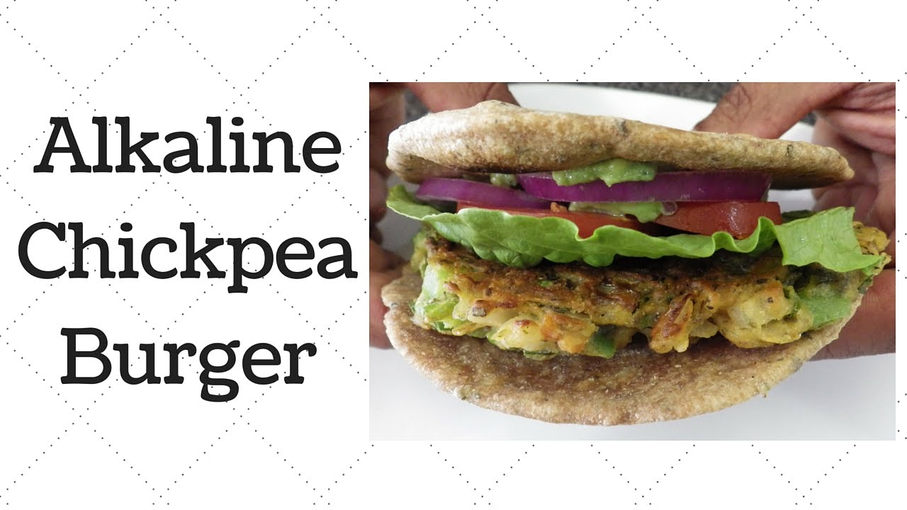 Chickpea Burgers Dr  Sebi Alkaline Electric Recipe