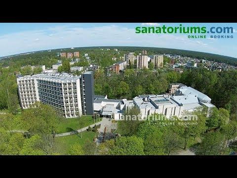 Санаторий SPA VILNIUS (Спа Вильнюс) курорт Друскининкай, Литва - Sanatoriums.com