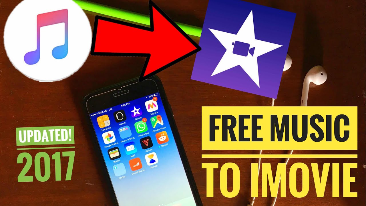 (NEW!) HOW TO GET FREE MUSIC FOR IMOVIE VIDEOS : iPhone/iPad iOS 11!